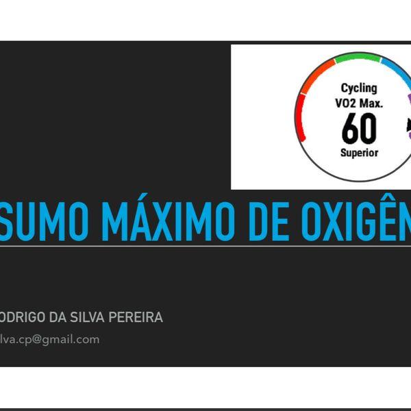 Imagem principal do produto Avaliação de VO2máx