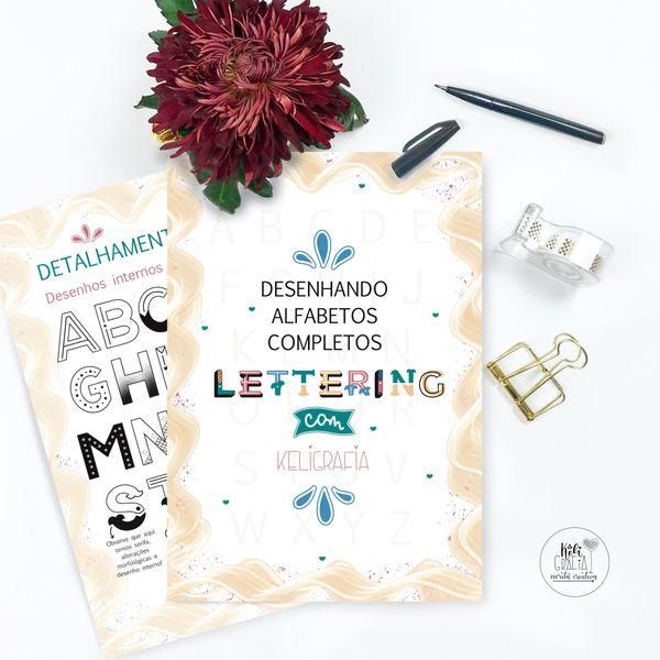 Imagem principal do produto Desenhando Alfabetos completos