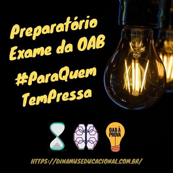 Imagem principal do produto CURSO PREPARATÓRIO - OAB 1ª FASE