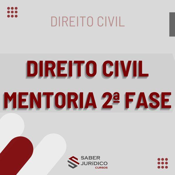 Imagem principal do produto DIREITO CIVIL 2 FASE - CURSO DE MENTORIA