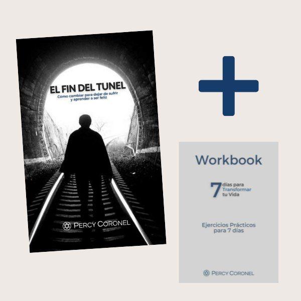 Imagem principal do produto EL FIN DEL TÚNEL, EBOOK + WORKBOOK + 7 VIDEOS