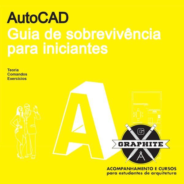 Imagem principal do produto AUTOCAD PARA ARQUITETURA   ENGENHARIA   DESIGN DE INTERIORES - Curso de Desenho Técnico com Autocad 2D (Todas as versões)