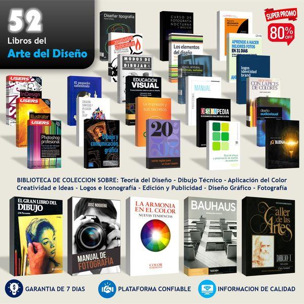 Imagem principal do produto 52 Libros del Arte del Diseño