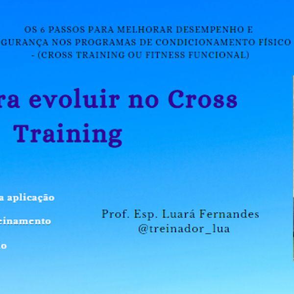 Imagem principal do produto Guia para evoluir no Cross Training