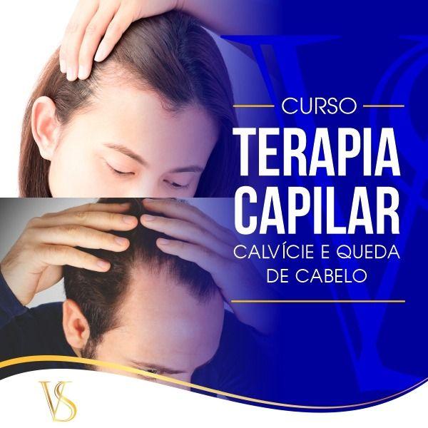 Imagem principal do produto Curso de Terapia Capilar e Calvície