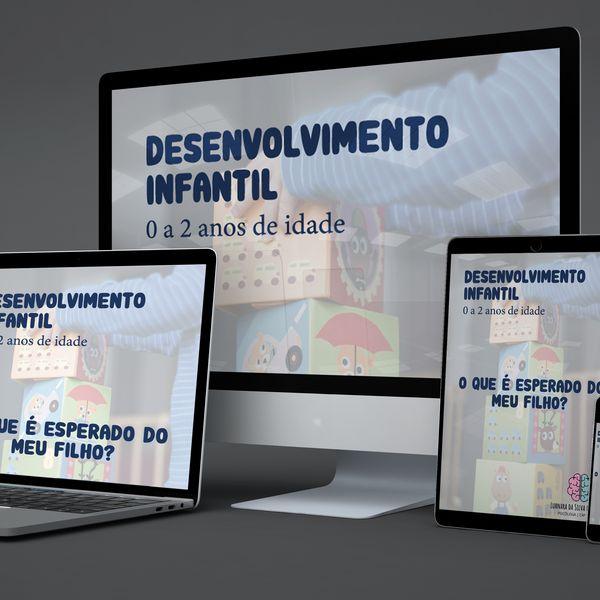 Imagem principal do produto Desenvolvimento Infantil - 0 a 2 anos de idade | O que é esperado do meu filho?