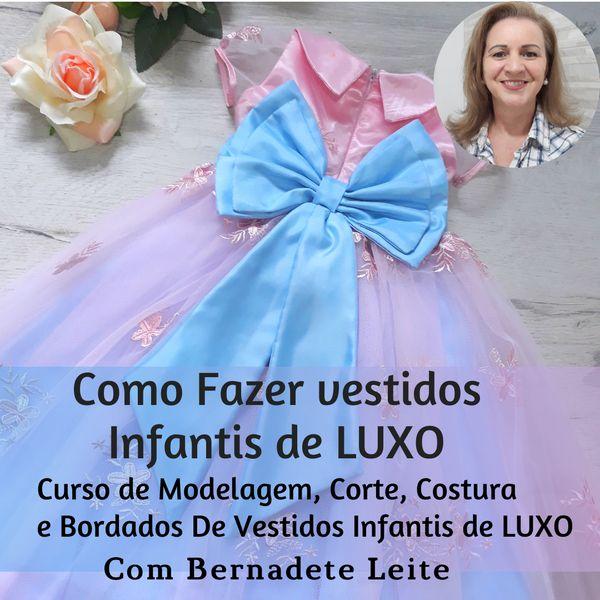 Imagem principal do produto Como Fazer Vestidos Infantis De Luxo