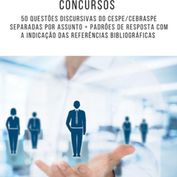 Imagem principal do produto 50 questões discursivas de gestão de pessoas (CESPE/CEBRASPE)