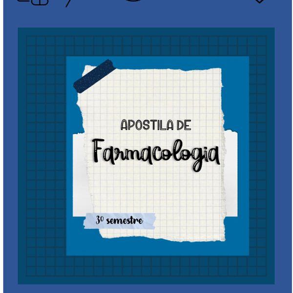 Imagem principal do produto Apostila de Farmacologia para Odontologia