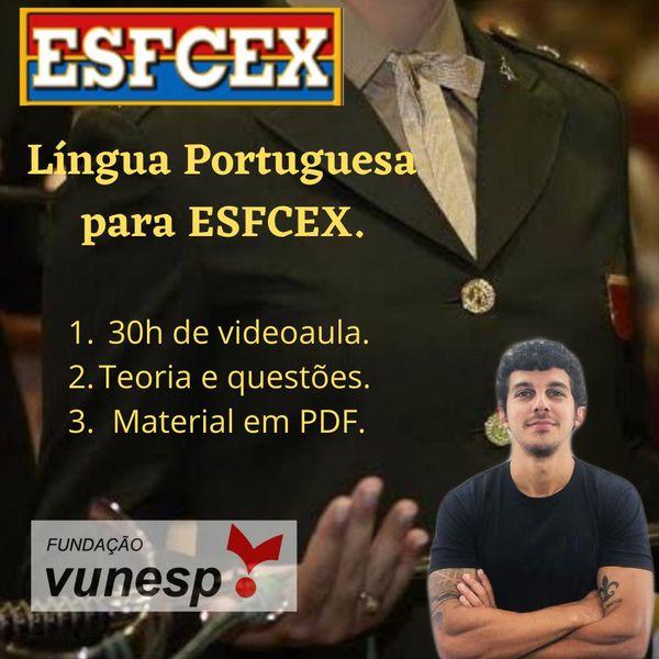 Imagem principal do produto Português para ESFCEX