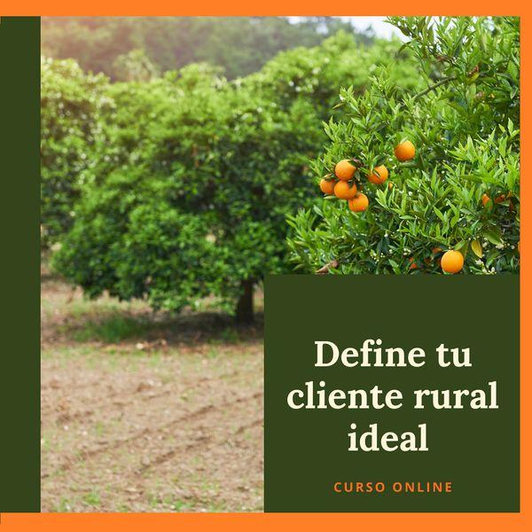 Imagem principal do produto Define tu cliente rural ideal