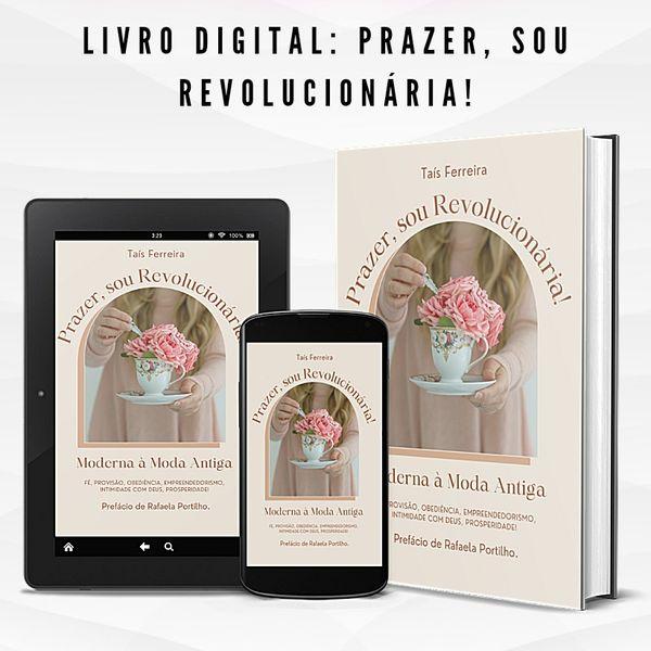 Imagem principal do produto Livro, Prazer sou Revolucionária