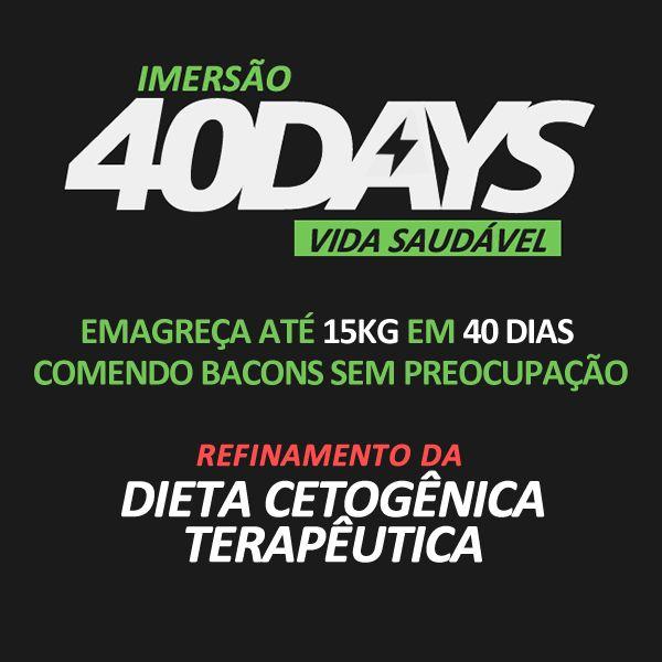 Imagem principal do produto IMERSAO40DAYS - Emagreça até 15kg em 40 dias