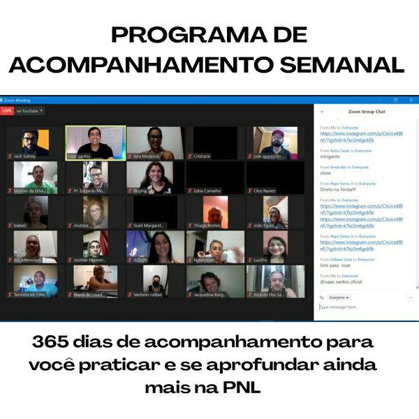 Imagem principal do produto PROGRAMA DE ACOMPANHAMENTO SEMANAL REPROGRAME-SE 360°