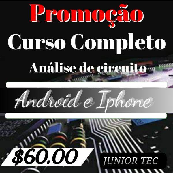 Imagem principal do produto ANÁLISES DE CIRCUITO ANDROID E IPHONE