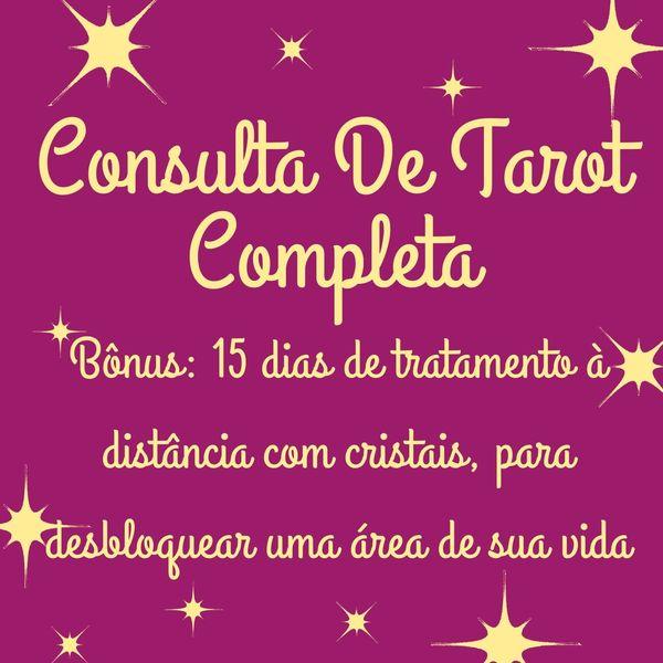 Imagem principal do produto Consulta De Tarot Completa