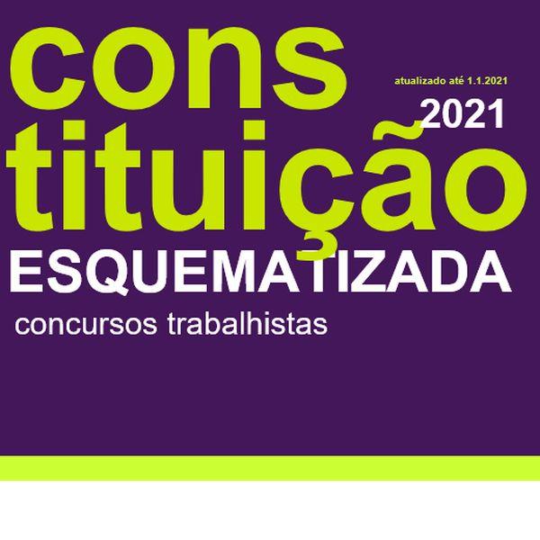 Imagem principal do produto Constituição Esquematizada para concursos trabalhistas