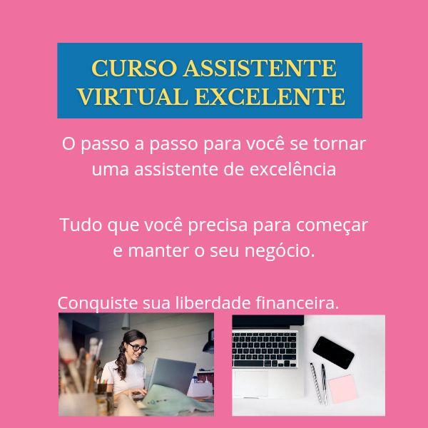 Imagem principal do produto Assistente Virtual Excelente