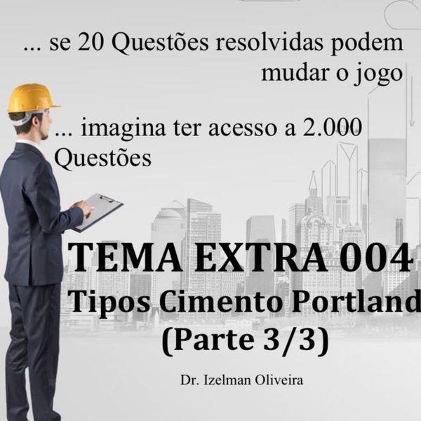 Imagem principal do produto E-Book Extra  004 - Tipos de Cimento Portland (Parte 3-3)
