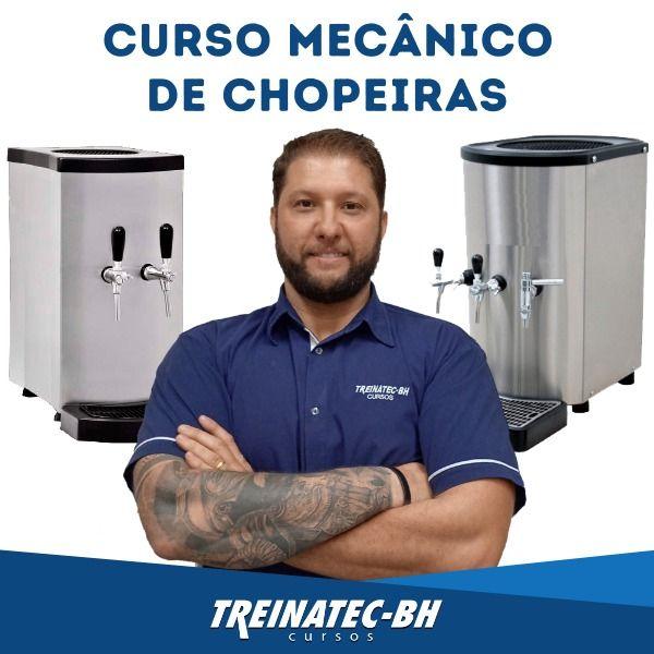 Imagem principal do produto Curso Mecânico de Chopeiras