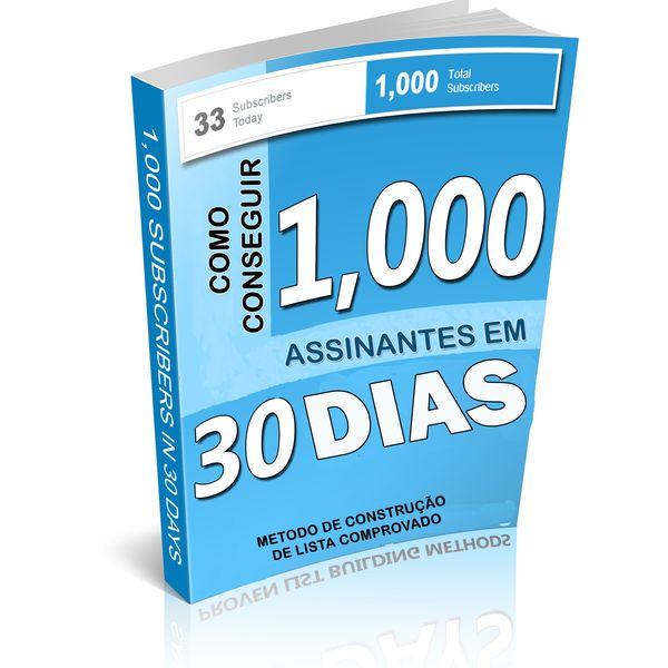 Imagem principal do produto 1000 ASSINANTES EM 30 DIAS