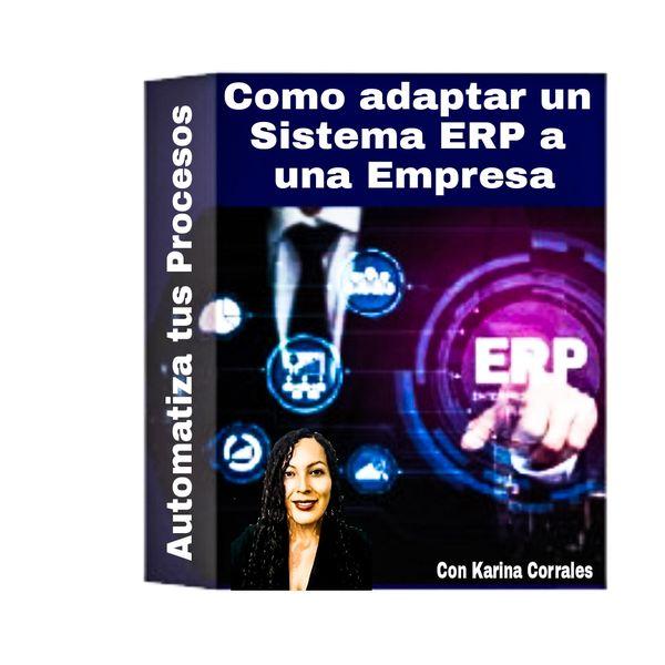 Imagem principal do produto ¿Cómo adaptar un Sistema ERP a una Empresa?