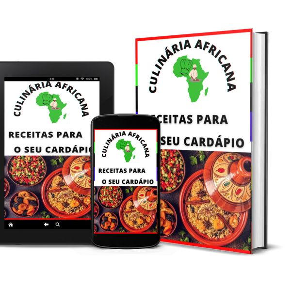 Imagem principal do produto CULINÁRIA AFRICANA - RECEITAS PARA O SEU CARDÁPIO