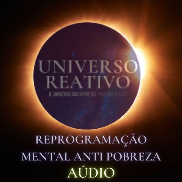 Imagem principal do produto Aúdio - Reprogramação Mental Anti Pobreza