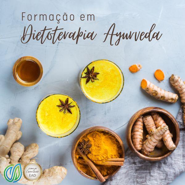 Imagem principal do produto Formação em  Dietoterapia Ayurvédica EAD (on-line)