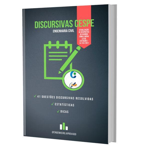 Imagem principal do produto E-book de discursivas de engenharia civil da banca Cespe/Cebraspe