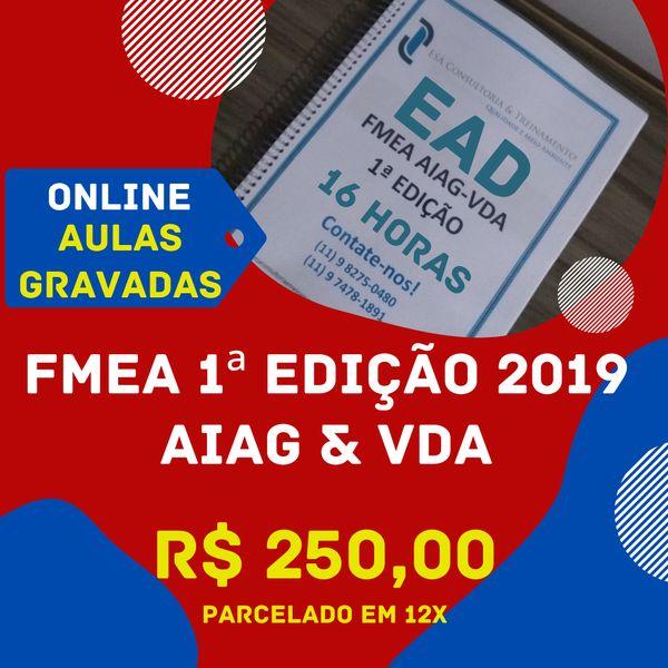 Imagem principal do produto Curso: FMEA AIAG-VDA 1ª Edição
