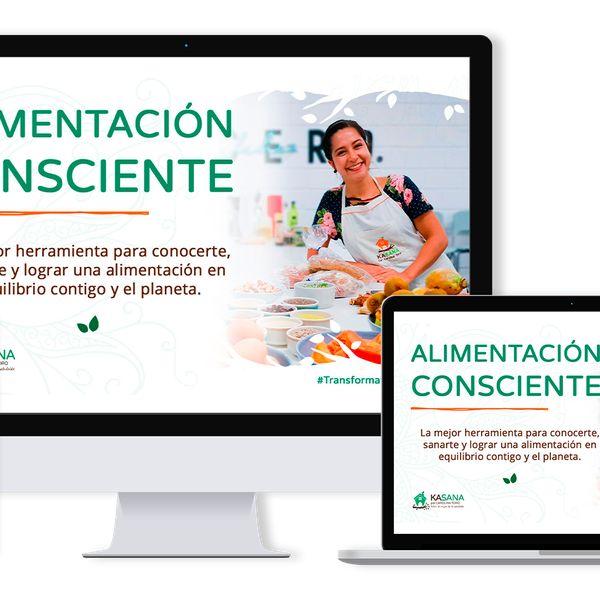 Imagem principal do produto Diplomado en Alimentación Consciente ALICONK