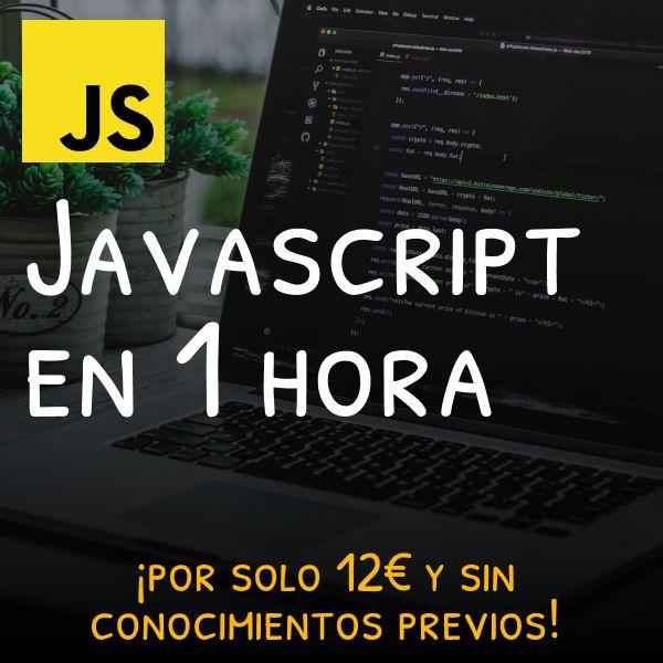 Imagem principal do produto Aprende Javascript en 1 hora (para principiantes en programación)