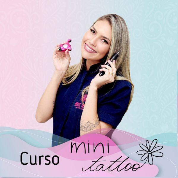 Imagem principal do produto Curso Tatuei! Tatuagens Delicadas e Sofisticadas