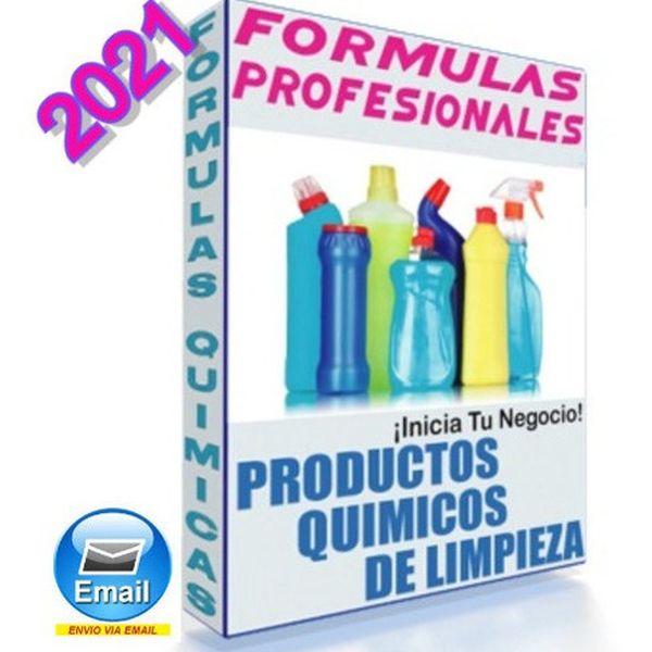 Imagem principal do produto Formulas de limpieza