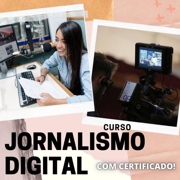 Imagem principal do produto Curso Jornalismo Digital