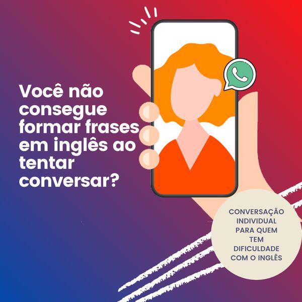 Imagem principal do produto Conversação em Inglês