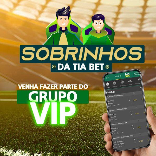 Imagem principal do produto Grupo VIP -  Sobrinhos da Tia Bet