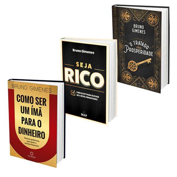 Imagem principal do produto 3 Livros de Prosperidade (Imã, Seja R. e O Tratado da Prosperidade)