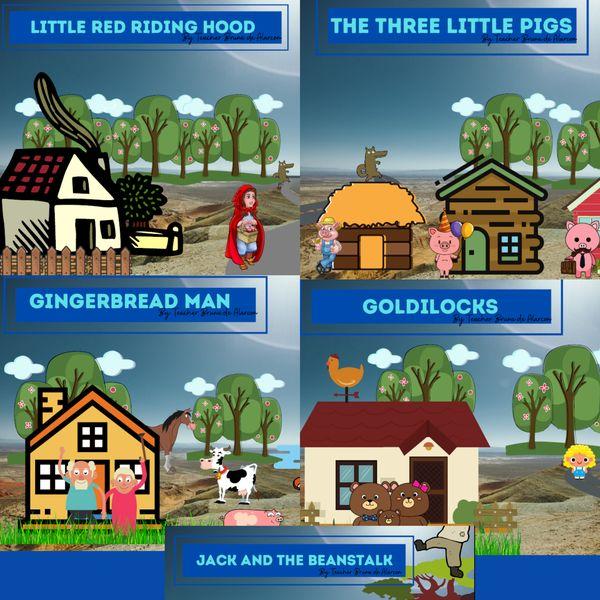 Imagem principal do produto Histórias Clássicas Virtuais: Pacote com 5 Atividades Interativas