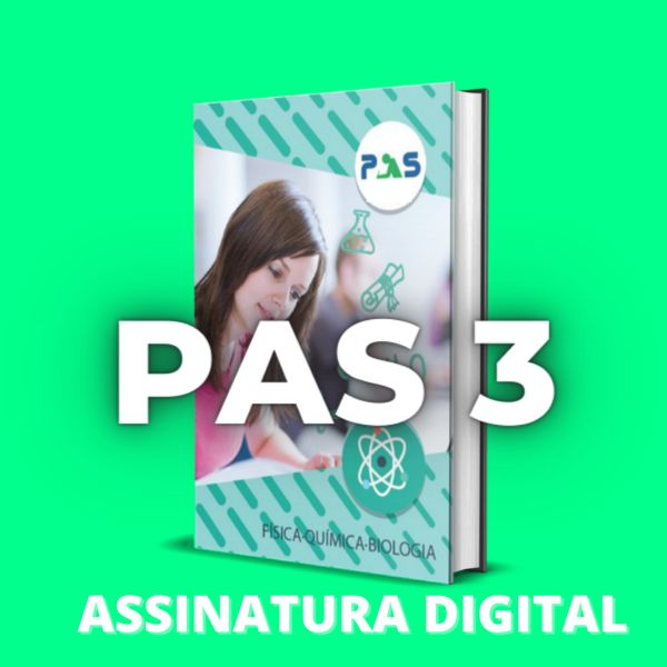 Imagem principal do produto Apostila PAS-UnB 3ª etapa - Assinatura Digital Anual