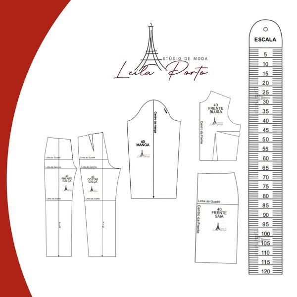 Imagem principal do produto Escalas de 1: 50
