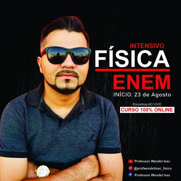 Imagem principal do produto FÍSICA ENEM- INTENSIVO MODO TURBO COM WENDEL ISAC