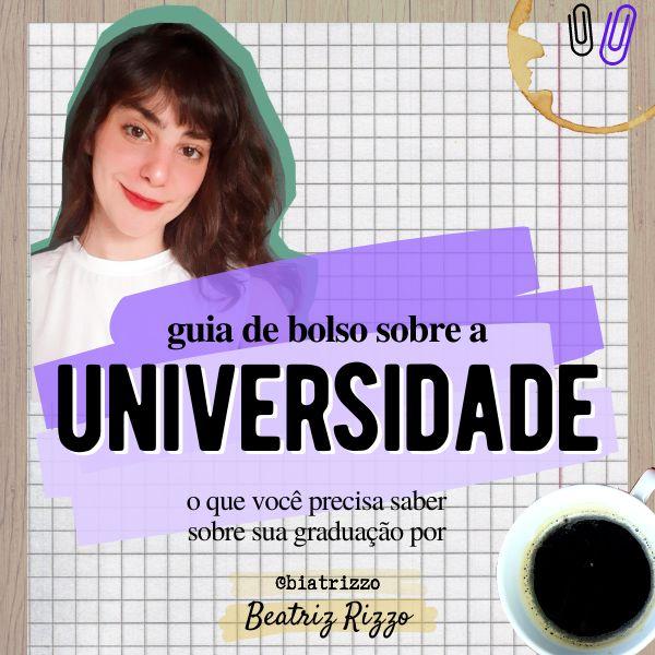 Imagem principal do produto Guia de Bolso sobre a Universidade