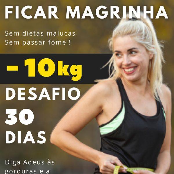 Imagem principal do produto Desafio 30 dias Para Ficar Magrinha