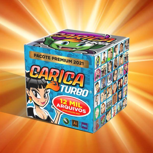 Imagem principal do produto COMBO FULL PACK CARICATURBO ELITE 2021