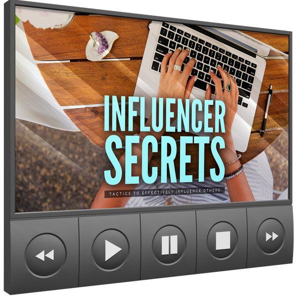 Imagem principal do produto Influencer Secrets