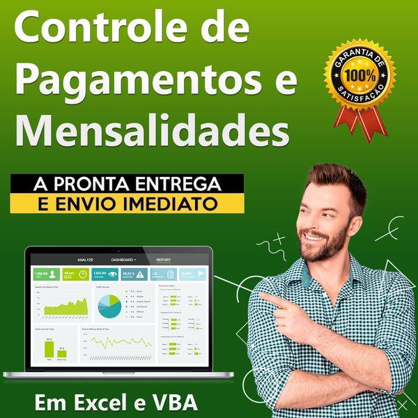 Imagem principal do produto Sistema de Controle de Mensalidades e Controle de Pagamentos