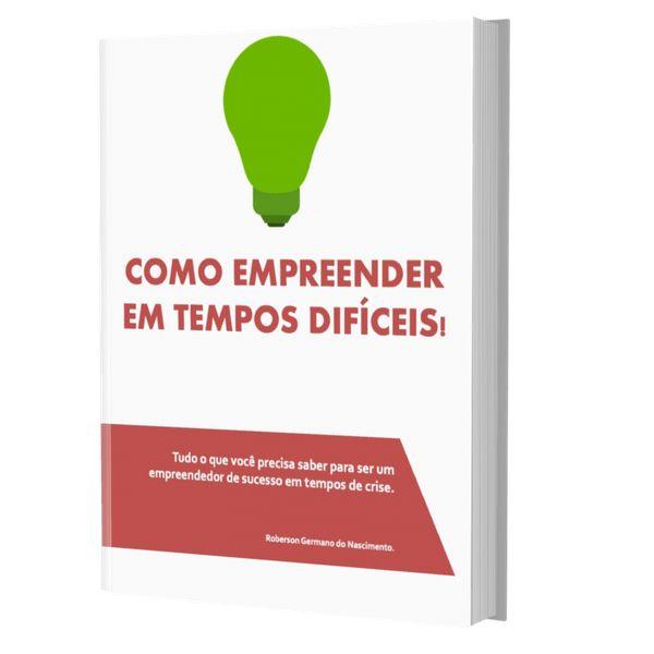 Imagem principal do produto COMO EMPREENDER EM TEMPOS DIFÍCEIS