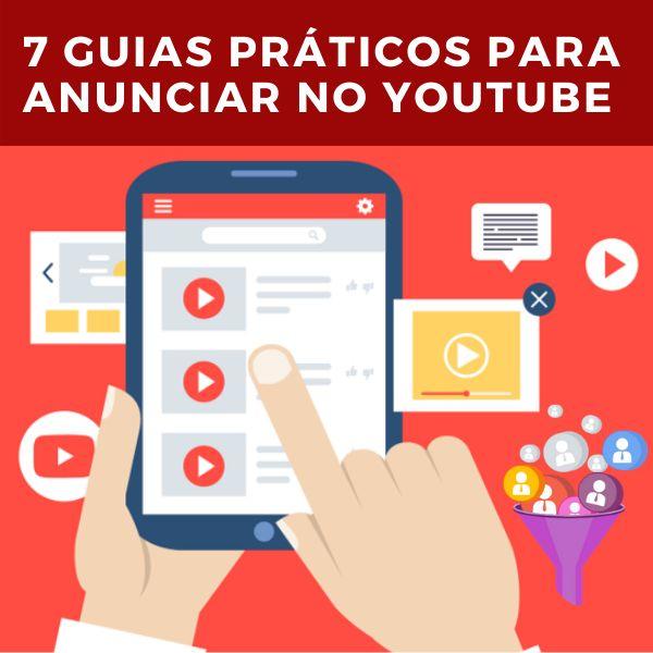 Imagem principal do produto 7 Guias Práticos para ANUNCIAR no YOUTUBE seu Marketing Político, Home-Office e Negócio